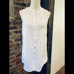 NWT Anthropologie 4Our Dreamers White Cover Up
